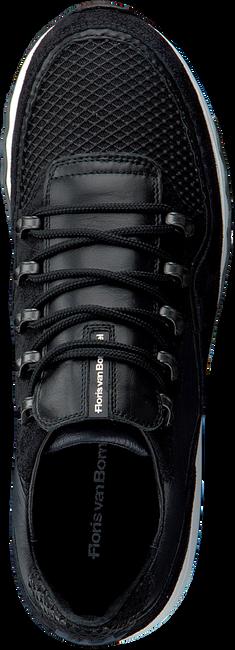 Zwarte FLORIS VAN BOMMEL Lage sneakers 16393  - large