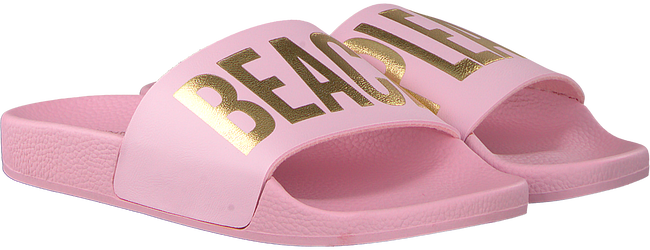 Roze THE WHITE BRAND Slippers BEACH PLEASE  - large