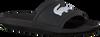 Zwarte LACOSTE Slippers CROCO SLIDE  - small