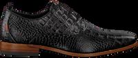 Zwarte REHAB Nette schoenen GREG CROCO  - medium