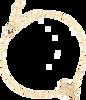 Gouden ALLTHELUCKINTHEWORLD Armband ELEMENTS BRACELET CACTUS - small