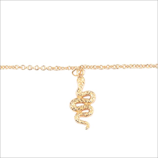 Gouden ATLITW STUDIO Armband SOUVENIR BRACELET SNAKE - large