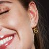 Gouden ATLITW STUDIO Oorbellen SOUVENIR EARRINGS LIPS - small
