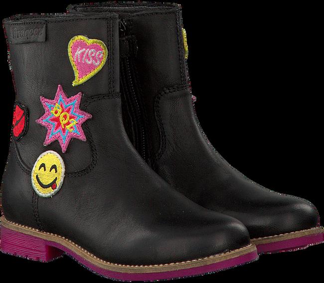 Zwarte BRAQEEZ Lange laarzen 417674  - large