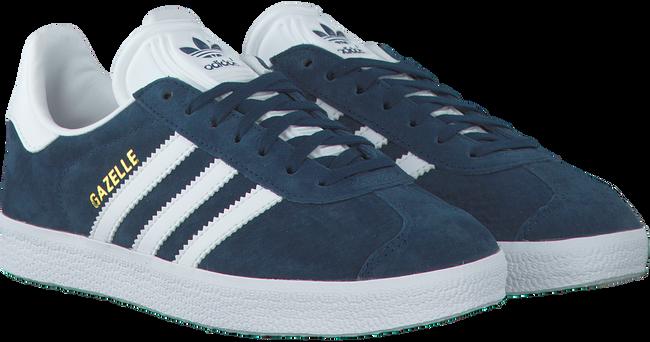blauwe adidas sneakers gazelle dames