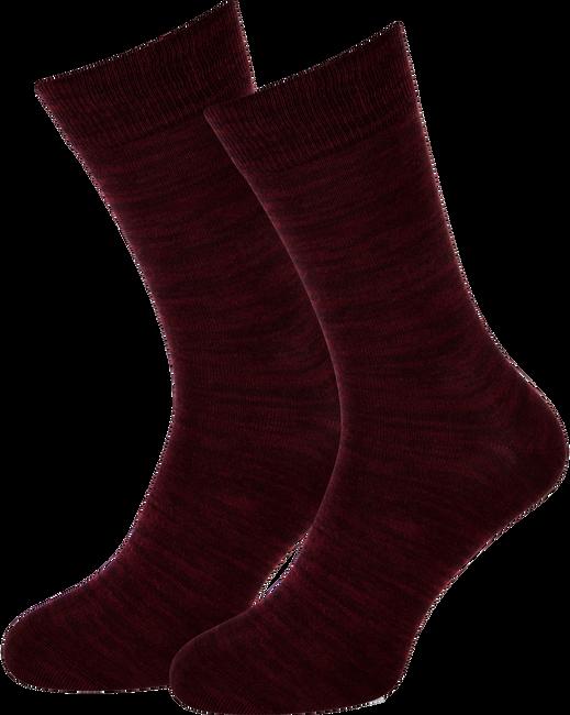 Rode MARCMARCS Sokken RED ROME COTTON - large