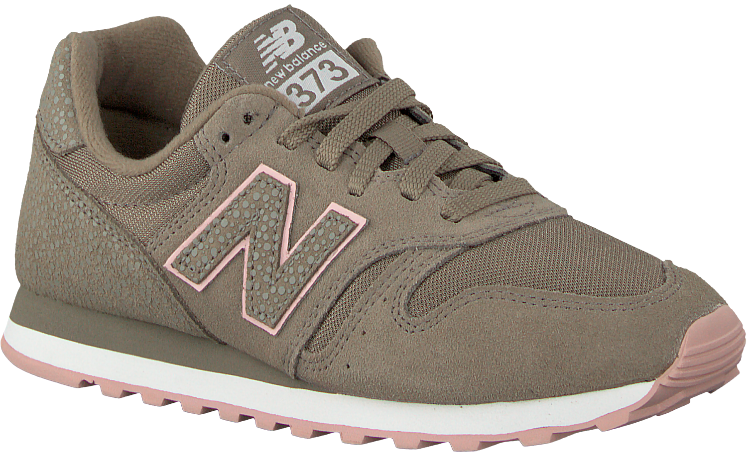 new balance wl373 sneakers zwart dames