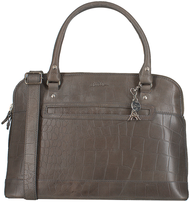 Grijze BY LOULOU Handtas 24BAG04S - large