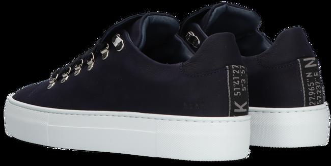 Blauwe NUBIKK Lage sneakers JAGGER CLASSIC  - large