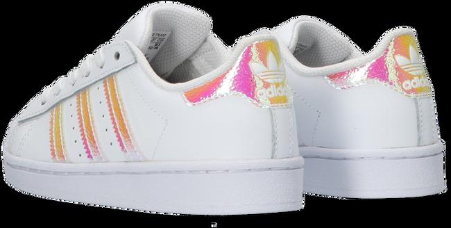 Witte ADIDAS Lage sneakers SUPERSTAR C  - large