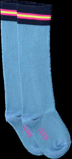 Blauwe LE BIG Sokken TABRETT KNEE HIGH  - large
