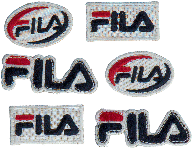 Witte FILA Sneakers DISRUPTOR II PATCHES WMN  - large