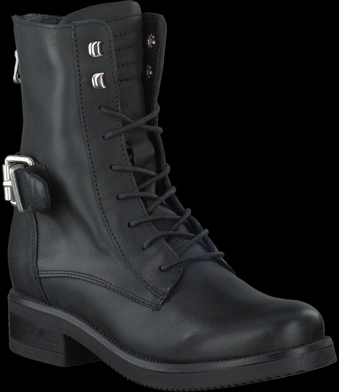 Ps Poelman Chaussures Noires À Lacets Pour Les Femmes rPKO2g