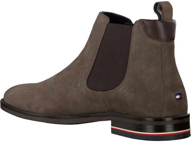 Taupe TOMMY HILFIGER Chelsea boots SIGNATURE HILFIGER CHELSEA  - large
