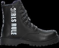 Zwarte BRAQEEZ Veterboots BOBBI BOOT  - medium