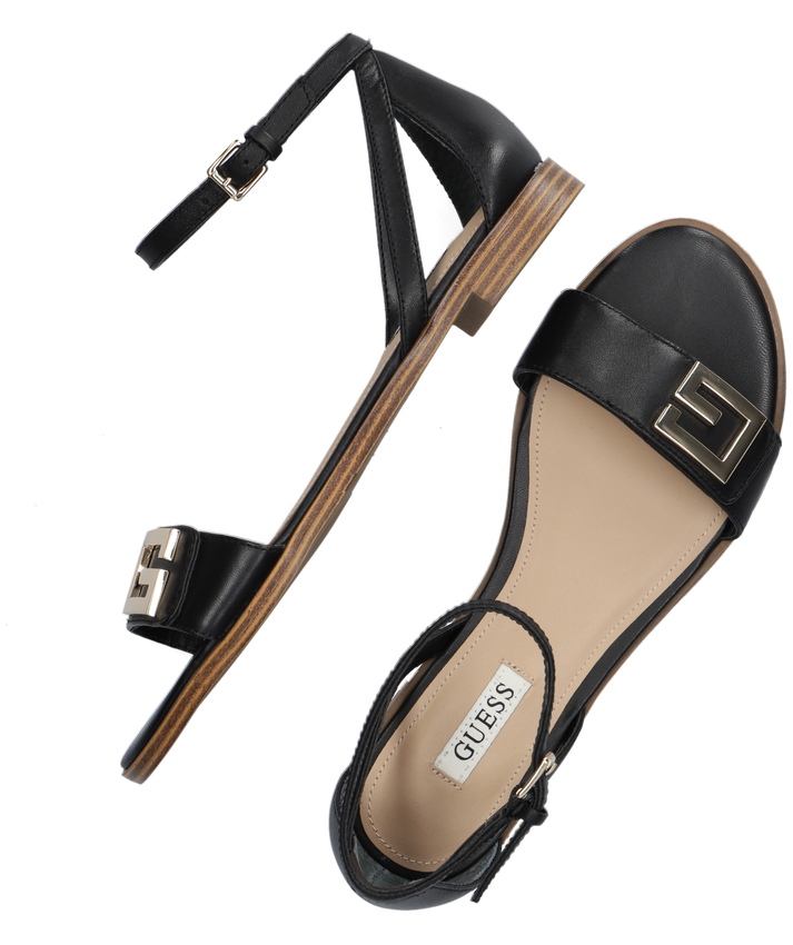 Zwarte GUESS Sandalen RASHIDA  - larger