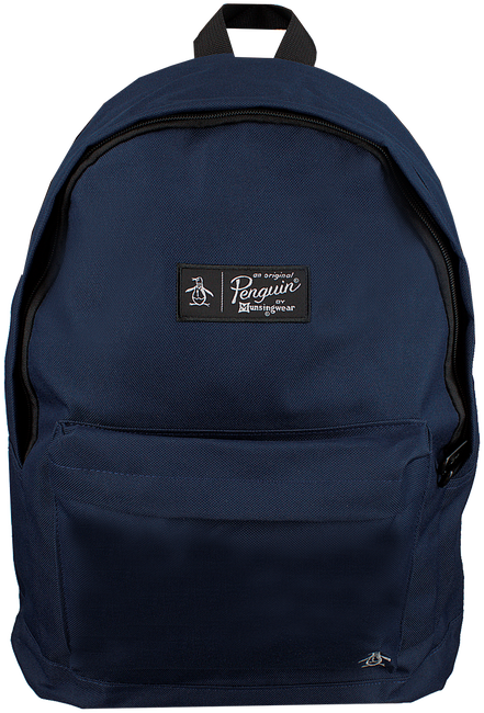 Blauwe ORIGINAL PENGUIN Rugtas HOMBOLDT BACKPACK - large