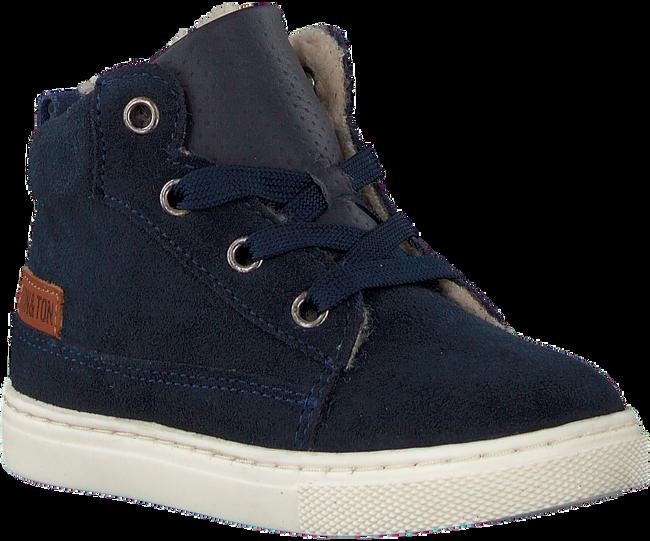 Blauwe TON & TON Hoge sneaker PL20W017  - large