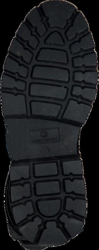 Zwarte JANET & JANET Overknee laarzen 46750 - larger