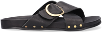 Zwarte NOTRE-V Slippers 10318  - medium