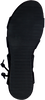 Zwarte RED RAG Sandalen 79106  - small