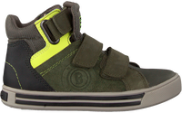 Groene BRAQEEZ Hoge sneaker DEX DAY  - medium