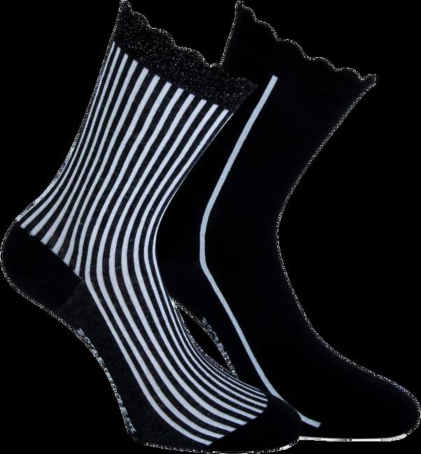 Zwarte MARCMARCS Sokken AMY COTTON 2-PACK - large