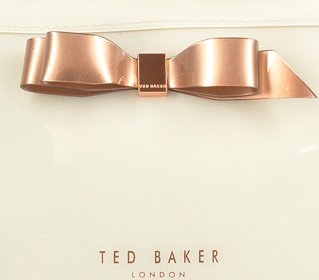 Witte TED BAKER Toilettas CAHIRA  - large