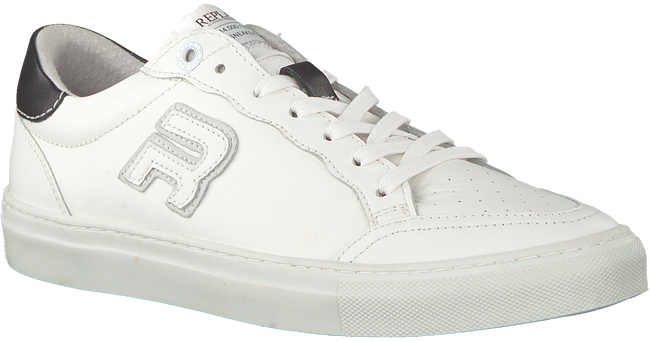 Witte REPLAY Veterschoenen FITZIE - large