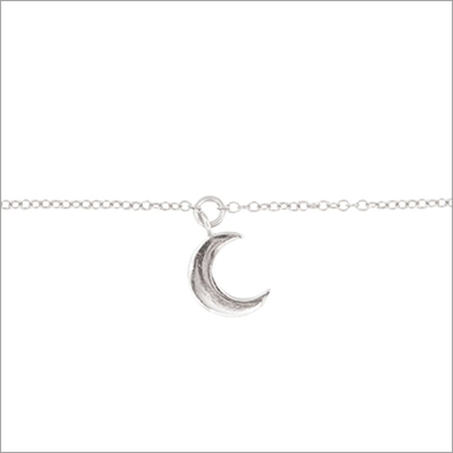 Zilveren ALLTHELUCKINTHEWORLD Armband FORTUNE BRACELET MOON - large
