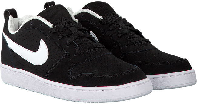 Zwarte NIKE Sneakers COURT BOROUGH LOW MEN  - large