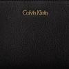 Zwarte CALVIN KLEIN Portemonnee FRAME MEDIUM ZIP - small