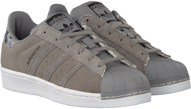 Taupe ADIDAS Sneakers SUPERSTAR J - large