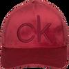 Rode CALVIN KLEIN Pet BASEBALL CAP VELVET - small