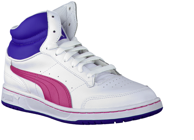 Witte PUMA Sneakers 353999  - large