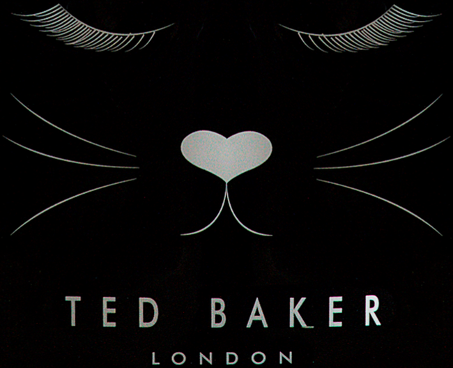 Zwarte TED BAKER Handtas MEOWCON  - large