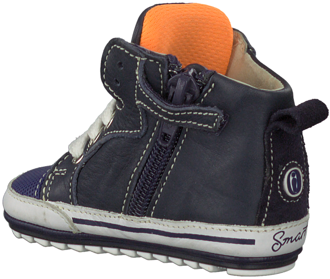 Blauwe SHOESME Babyschoenen BP7W002  - large