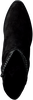 Zwarte RED-RAG Enkellaarsjes 77102  - small