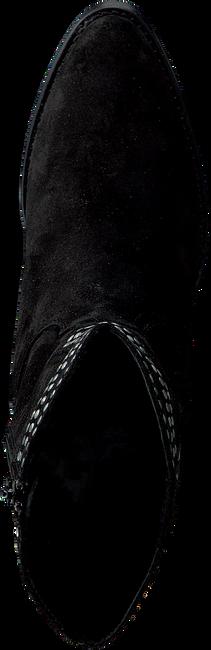 Zwarte RED-RAG Enkellaarsjes 77102  - large