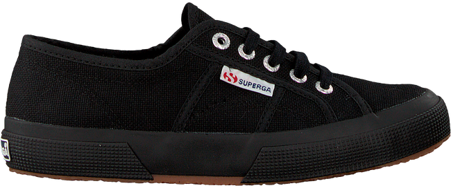 Zwarte SUPERGA Sneakers 2750 COTUCLASSIC