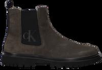 Groene CALVIN KLEIN Chelsea boots LUG MID CHELSEA  - medium