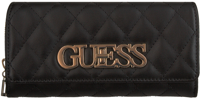 Zwarte GUESS Portemonnee SWEET CANDY SLG - large