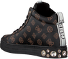 Bruine GUESS Hoge sneaker REMMY  - small