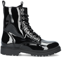 Zwarte VINGINO Veterboots EVA HIGH  - medium