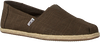 Groene TOMS Espadrilles CLASSIC ROPE SOLE - small