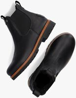 Zwarte PANAMA JACK Chelsea boots BURTON IGLOO  - medium
