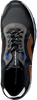 Zwarte FLORIS VAN BOMMEL Sneakers 16092  - small