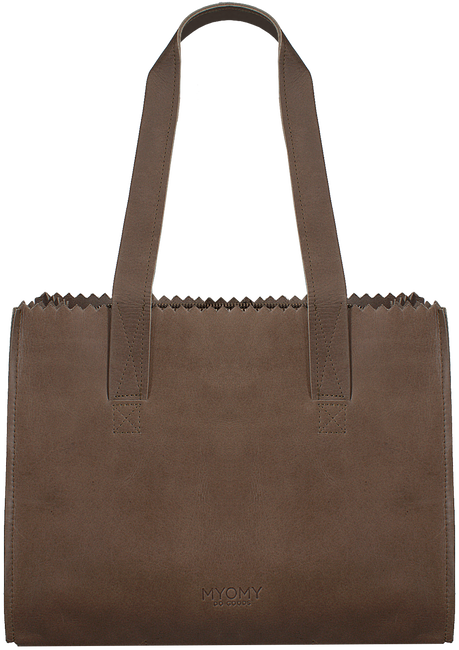 Taupe MYOMY Handtas HANDBAG - large