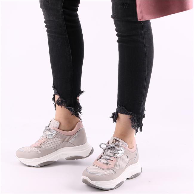 Grijze SCAPA Sneakers 10/4852  - large