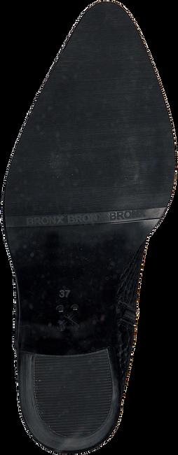 Zwarte BRONX Enkellaarzen NEW AMERICANA LOW  - large